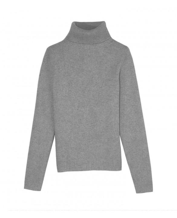 Cashmere turtleneck sweaters Light grey