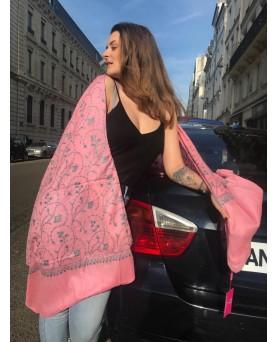 Cashmere pashmina shawls Shahtoosh embroidered