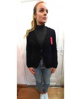 Giacca blazer in cachemire Nero