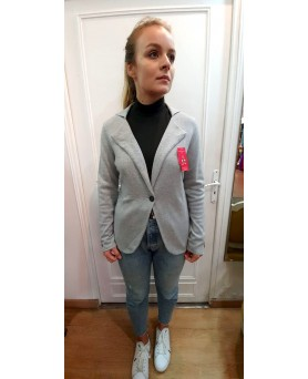 Cashmere blazer Light grey