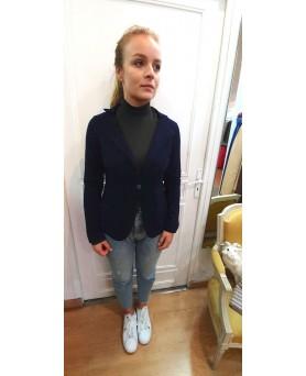 Cashmere blazer Navy blue