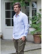 Chemises Homme, en lin de coton hermine de pashmina cachemire paris